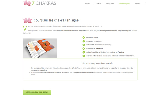 Les 7 Chackras